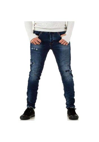 Neckermann Heren Jeans - donkerblauw