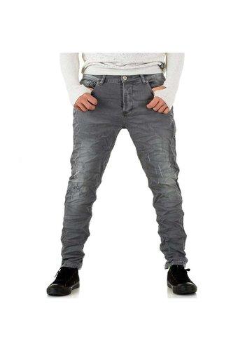 Neckermann Herren Jeans von Y.Two Jeans - lightgray