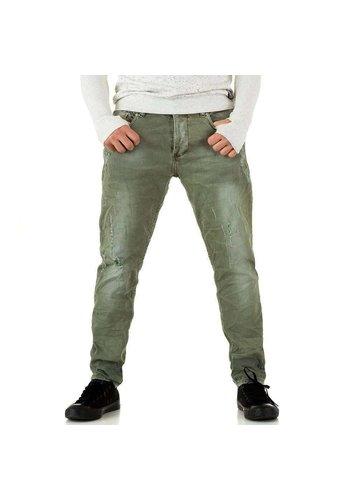 Neckermann Herren Jeans von Y.Two Jeans - armygreen