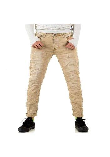 Neckermann Herren Jeans von Y.Two Jeans - camel