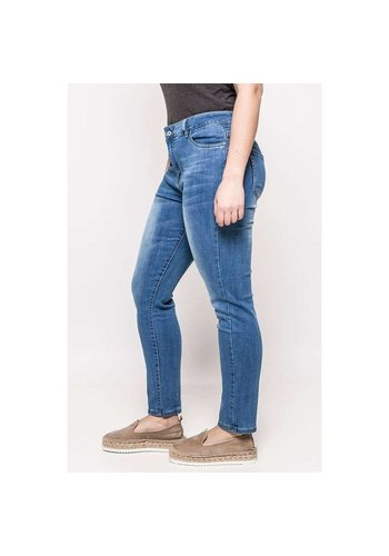 Neckermann Dames Jeans - grote maten - blauw