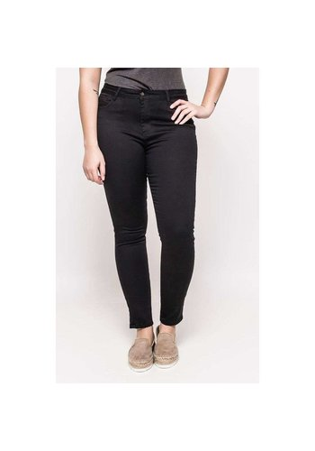 Neckermann Dames Jeans - Grote maat - zwart