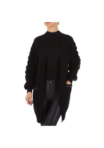 Neckermann Damen Strickjacke Gr. one size - black