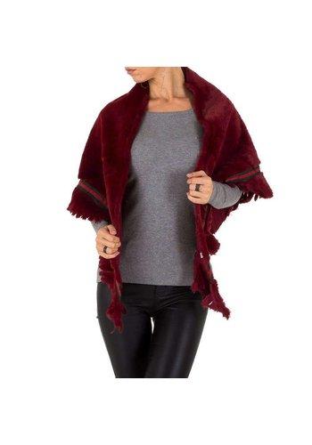 HOLALA Damen Jacke von Holala Gr. one size - burgundy