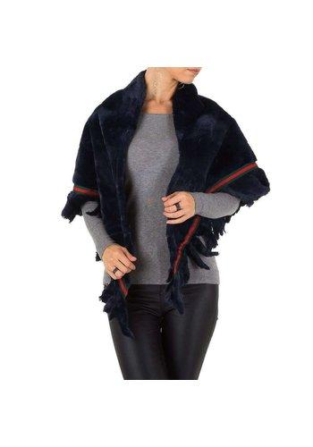 Neckermann Damen Jacke von Holala Gr. one size - bleu