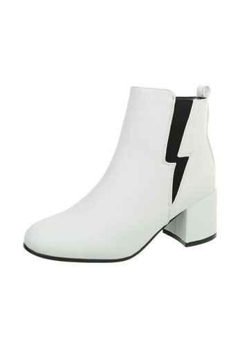 Neckermann Damen Chelsea Boots - white