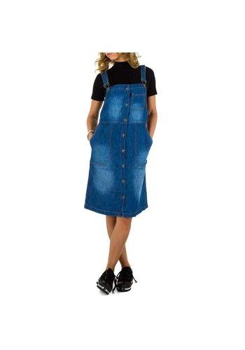 Neckermann Dames Jeans Jurk - blauw