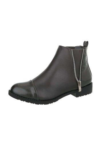 Neckermann Dames Chelsea Boots - anthraciet