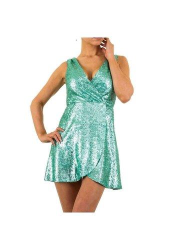 Neckermann Damen Kleid von Boohoo - aqua