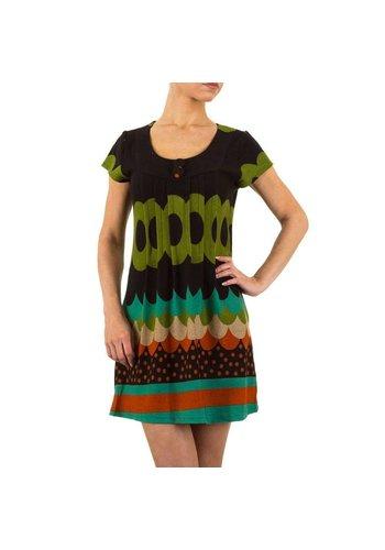 Neckermann Damen Kleid von Ravi Famous - multi