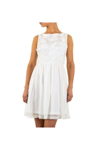 Neckermann Damen Kleid von Angel Paris - white