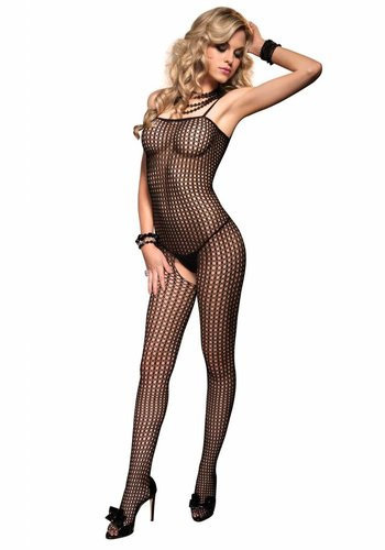 Leg Avenue Dames naadloze Bodystocking