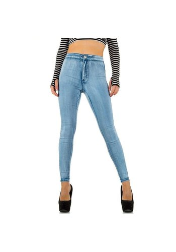 Neckermann Dames Jeans  - lichtblauw