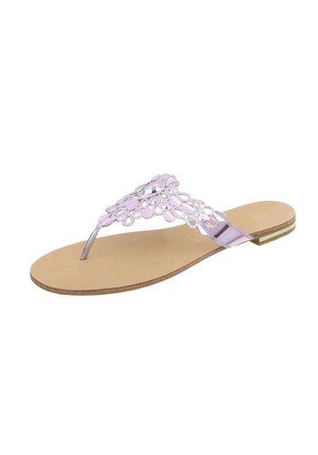 Neckermann Flache Sandalen für Damen - Rosa