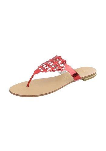 Neckermann Flache Sandalen für Damen - rot