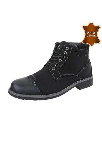 Neckermann Heren Hoge schoen -  zwart