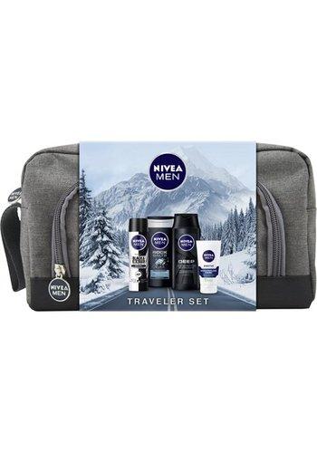 "Nivea Nivea GP ""Traveler Set"" Dusche Rock Salts 250ml"