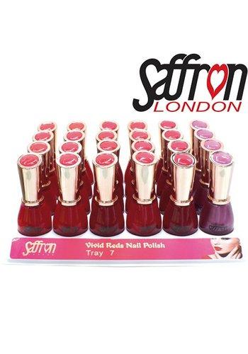Saffron London Nagellack Saffron klassiscbe Fb 6-fach sort. 13ml