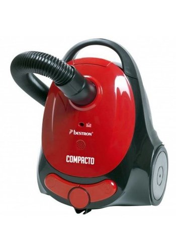 Bestron Aspirateur Compacto Plus rouge / noir - ABG150RB