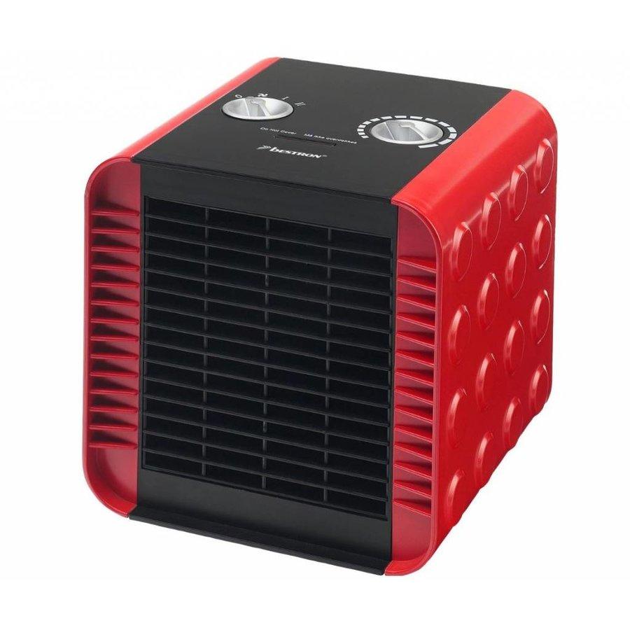 Radiateur soufflant en céramique - rouge - ACH1500R