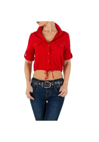 Neckermann Damen Hemdbluse - red
