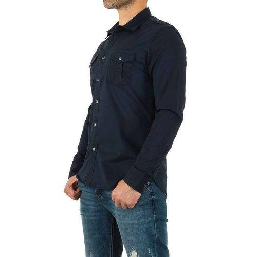 Neckermann Herren Hemd von Y.Two Jeans - navy