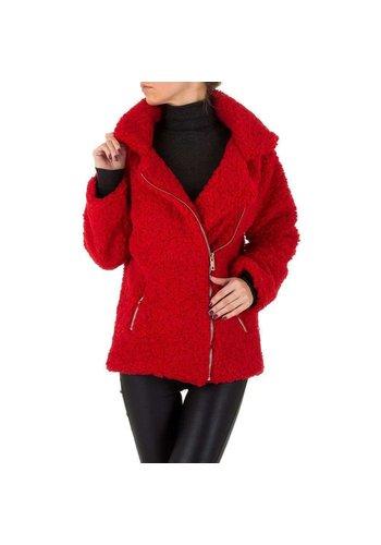 SHK PARIS Dames Mantel van SHK Paris - rood