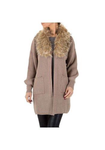 Neckermann Damen Mantel von Voyelles Gr. One Size - taupe