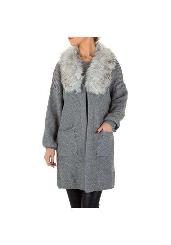 Neckermann Damen Mantel von Voyelles Gr. One Size - grey