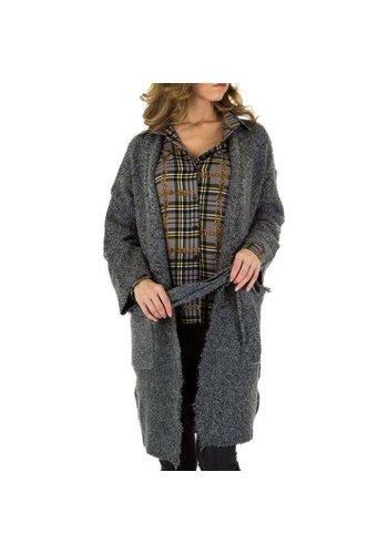 Neckermann Damen Mantel von Voyelles Gr. One Size - DK.grey