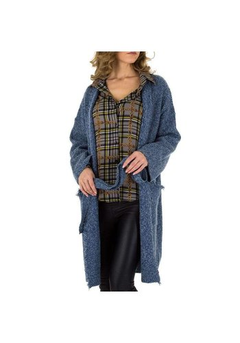 Neckermann Damen Mantel von Voyelles Gr. One Size - blue