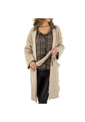Neckermann Damen Mantel von Voyelles Gr. One Size - beige