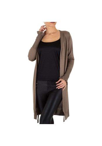 Neckermann Damen Mantel von Emmash Paris Gr. One Size - taupe