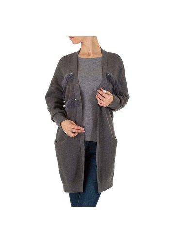 SHK PARIS Damen Mantel von SHK Paris Gr. One Size - D.grey