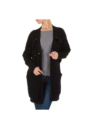 SHK PARIS Dames mantel  - 1 maat - zwart