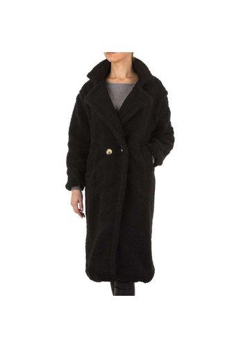 SHK PARIS Dames Mantel van Shk Paris - zwart
