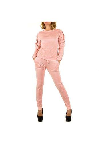 Neckermann Damen Anzug - pink