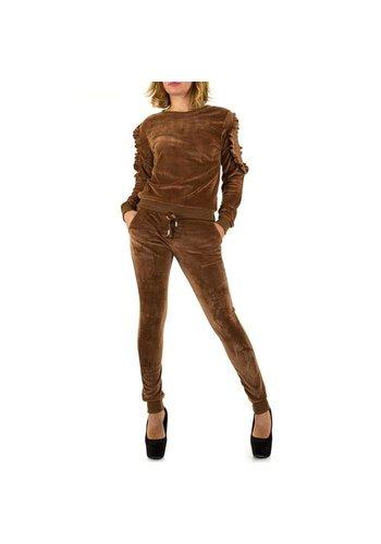 Neckermann Damen Anzug - brown