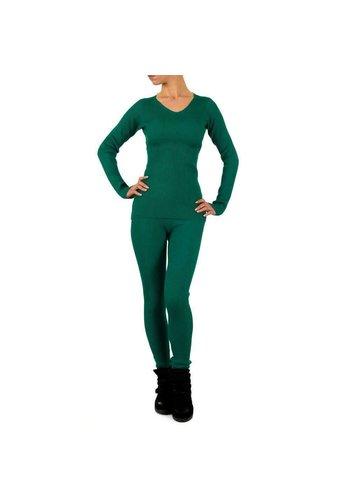 Neckermann Damen Anzug - green