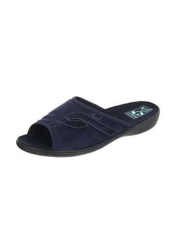 Neckermann Dames pantoffel  - donkerblauw