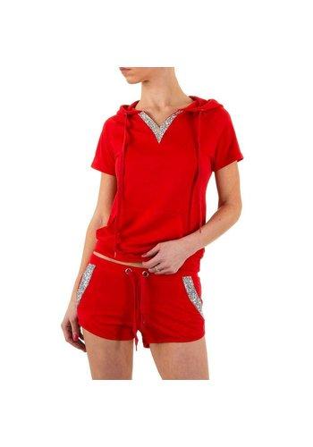 EMMA&ASHLEY DESIGN Damesshirt van Emma & Ashley Design - rood