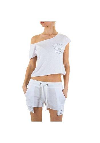 EMMA&ASHLEY DESIGN Tailleur femme Emma & Ashley Design - blanc