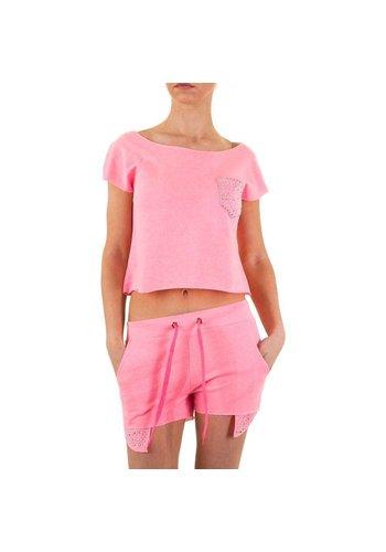 EMMA&ASHLEY DESIGN Dames pak van Emma & Ashley Design - L.pink