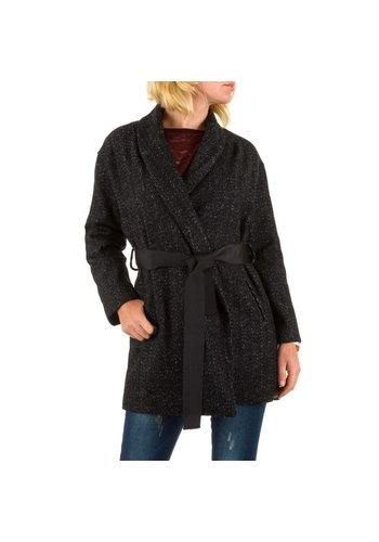 JCL Damen Mantel von Jcl - black