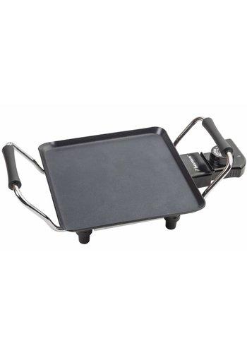 Bestron Gril de table - Plancha - 1000 W - 21x21 cm - ABP600