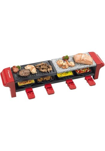 Bestron Raclette / Stone Grill - 4 Personnes - ARG400