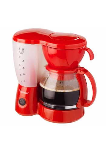 Bestron Koffiezetapparaat - Rood - ACM6081R