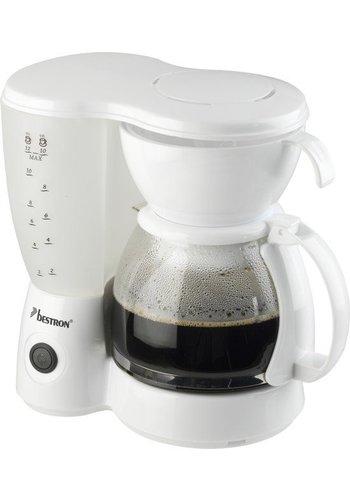 Bestron Kaffeemaschine - weiß - ACM6081W