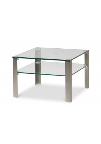 Neckermann Glas meubel - salontafel - 80x42 cm