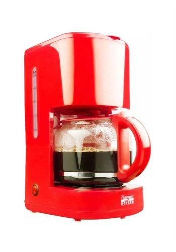 Bestron Koffiezetapparaat - Rood - ACM300HR